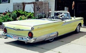 1959 Ford Galaxie Skyliner Hardtop Convertible