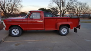 1968 Ford f-350