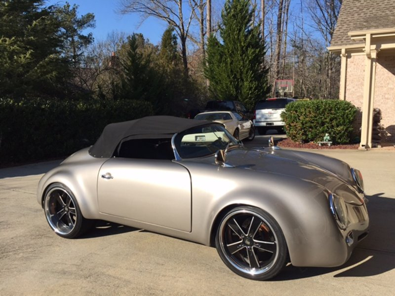 1956 Porsche 356 Speedster Turbocharged Widebody For Sale
