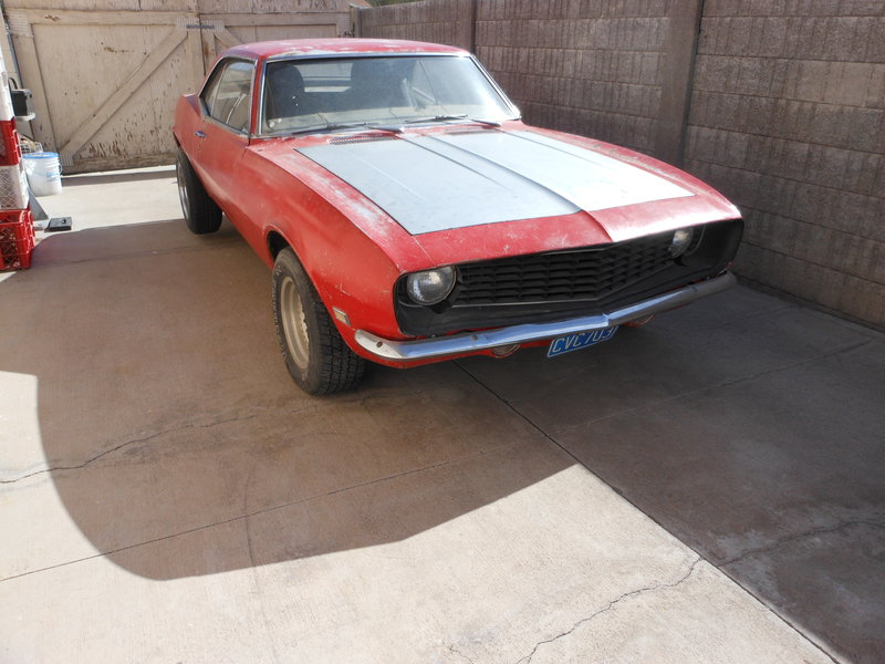 1968 chevrolet camaro for sale in las vegas nevada old car online. Black Bedroom Furniture Sets. Home Design Ideas