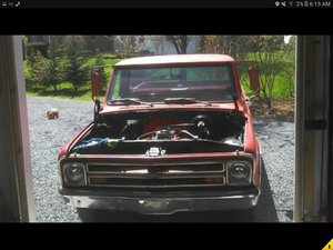 1968 Chevrolet C10  fleetside shorted.