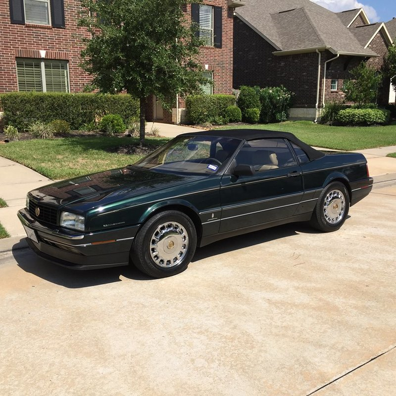 1993 cadillac allante for sale in beasley texas old car online. Cars Review. Best American Auto & Cars Review