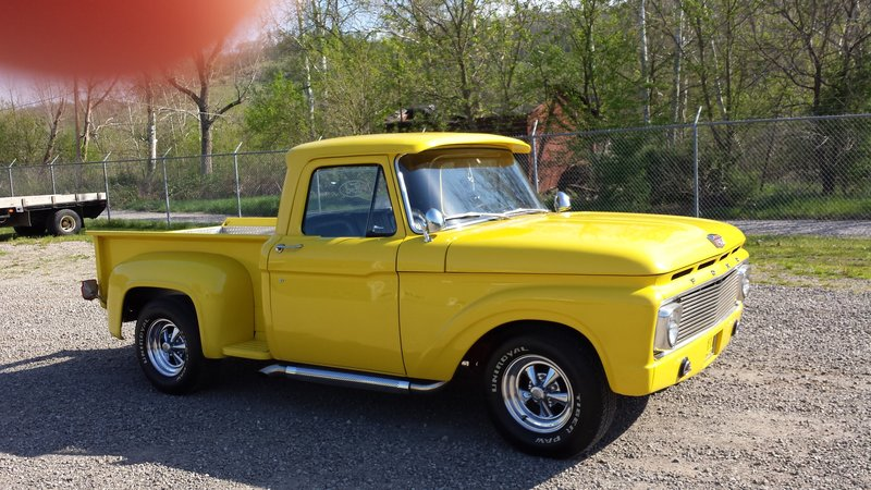 1963 ford f 100 for sale in bellaire ohio old car online. Black Bedroom Furniture Sets. Home Design Ideas