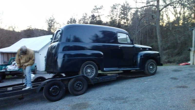 1950 ford panel truck for sale in columbus ohio old car online. Black Bedroom Furniture Sets. Home Design Ideas