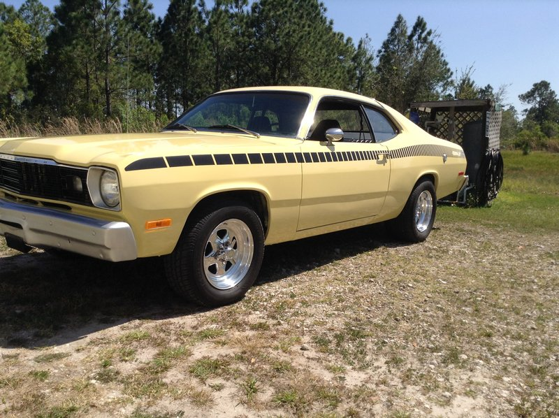 1974 plymouth duster for sale in lake wales florida old car online. Black Bedroom Furniture Sets. Home Design Ideas