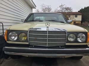 1983 Mercedes Benz 300CD Turbo Diesel Coupe