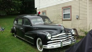 1948 Pontiac Hearse / ambulance