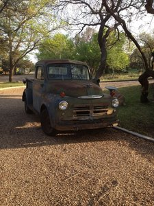 1950 Dodge B2B PIlothouse Pickup