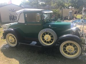 1928 Ford Model A. Business Coupe
