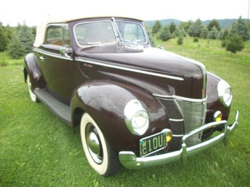 Nj Cars For Sale: 1940 Ford Deluxe For Sale In Ashbury, New Jersey