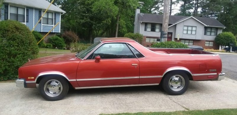1984 chevrolet el camino for sale in birmingham alabama old car online. Black Bedroom Furniture Sets. Home Design Ideas
