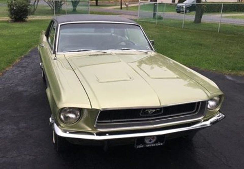 1968 ford mustang for sale in butler pennsylvania old car online. Black Bedroom Furniture Sets. Home Design Ideas