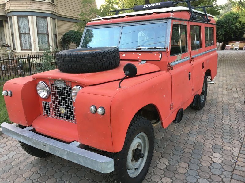 1967 land rover 109 for sale in santa paula california old car online. Black Bedroom Furniture Sets. Home Design Ideas