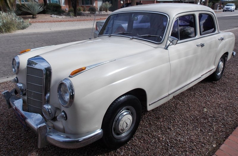 1959 mercedes benz 219s for sale in tucson arizona old for Mercedes benz tucson az