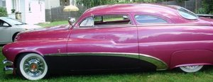 1950 Mercury Custom two door Coupe