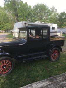 1926 Ford Model T Extended Cab