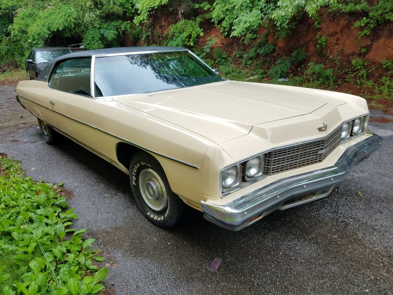 1973 chevrolet caprice classic for sale in atlanta georgia old car online. Black Bedroom Furniture Sets. Home Design Ideas