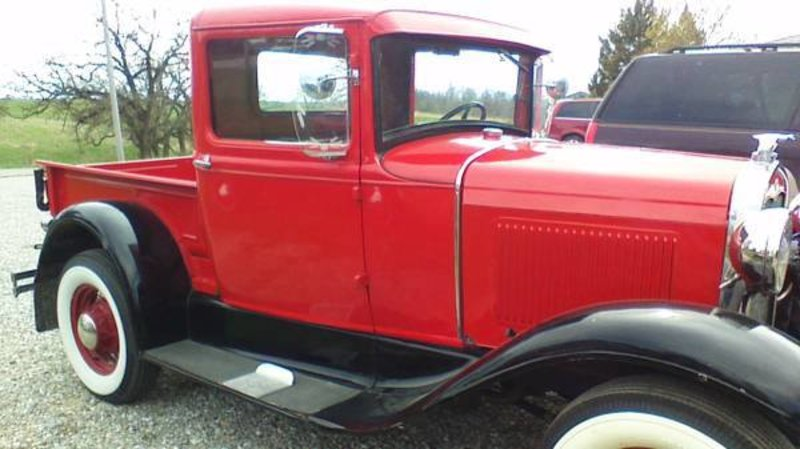 1931 ford model a pickup for sale in newton iowa old car online. Black Bedroom Furniture Sets. Home Design Ideas