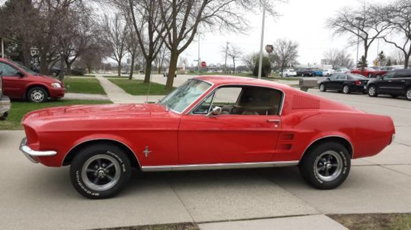1967 ford mustang for sale in fon du lac wisconsin old. Black Bedroom Furniture Sets. Home Design Ideas