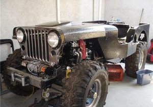 1951 Jeep Willys M-38