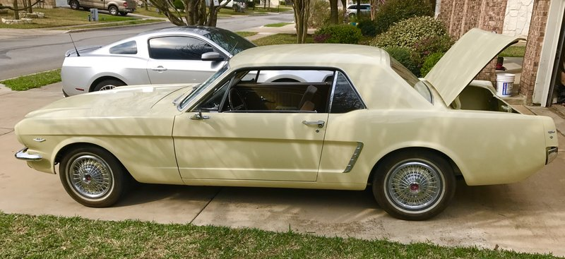 1965 ford mustang for sale in buda texas old car online. Black Bedroom Furniture Sets. Home Design Ideas