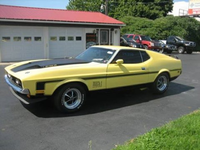 1972 ford mustang mach 1 for sale in fredonia new york. Black Bedroom Furniture Sets. Home Design Ideas