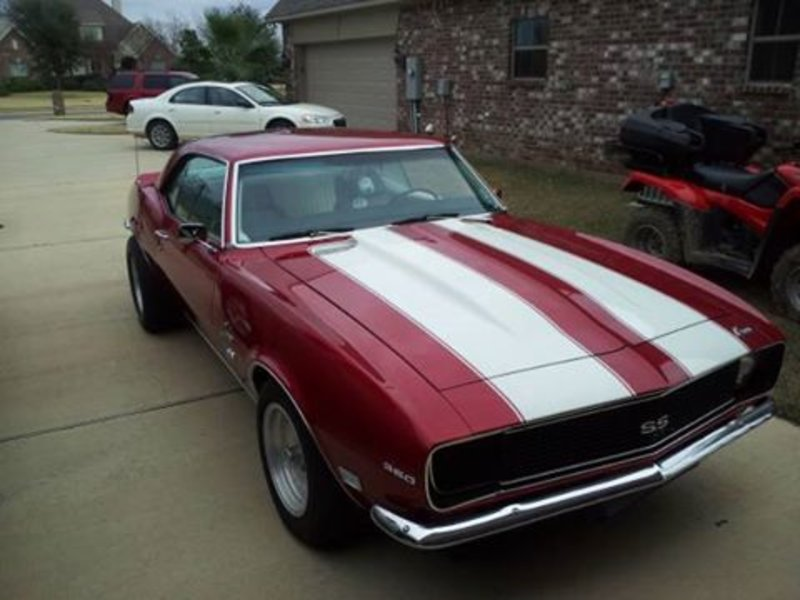 1968 Chevrolet Camaro Ss For Sale In Bossier City