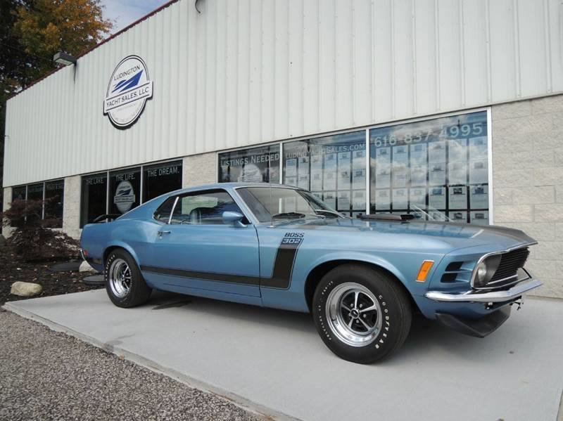 1970 ford mustang boss 302 for sale in nunica michigan old car online. Black Bedroom Furniture Sets. Home Design Ideas