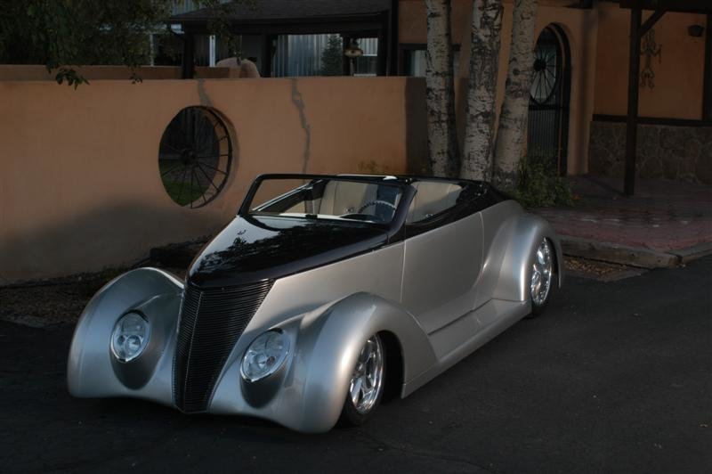 1937 Ford Hard Top Convertible
