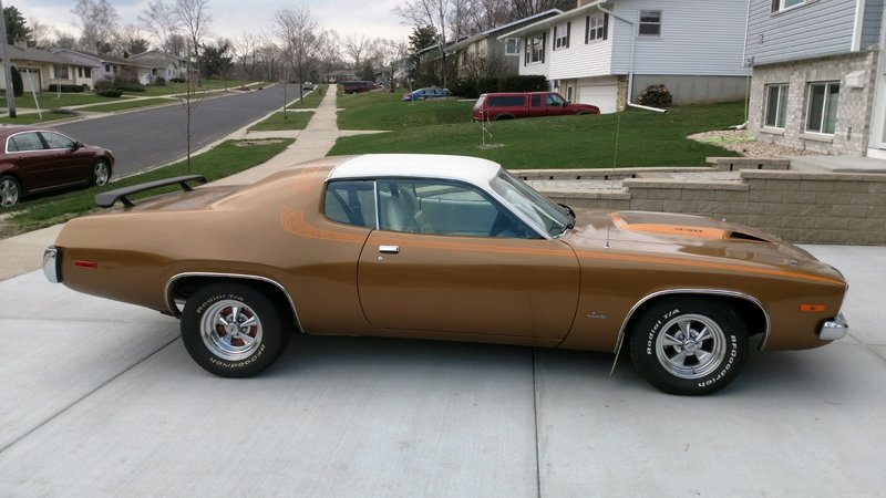 1973 plymouth satellite for sale in madison wisconsin old car online. Black Bedroom Furniture Sets. Home Design Ideas