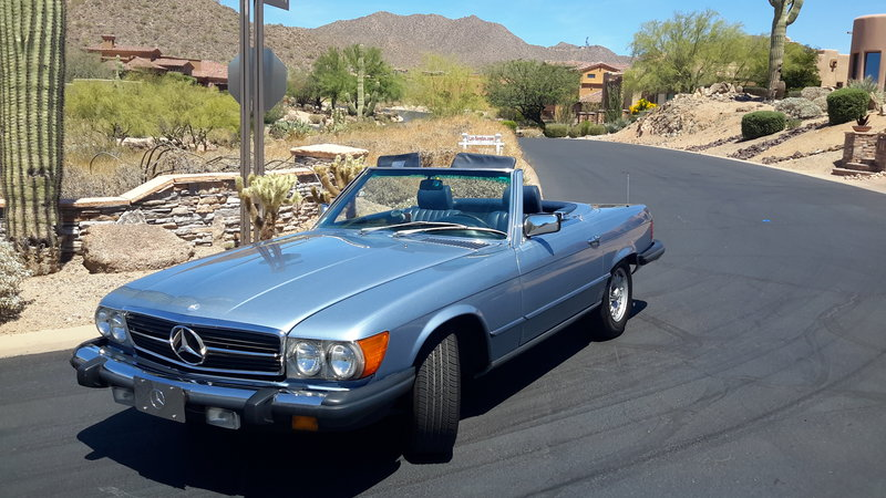 1985 mercedes benz 380sl for sale in mesa arizona old
