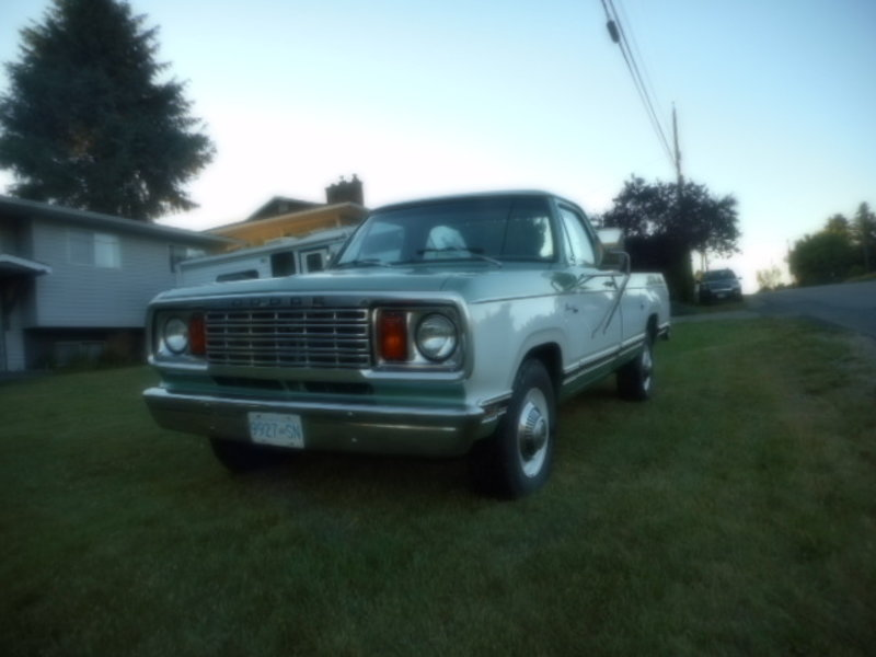 1978 Dodge D 200 For Sale in Vernon, British Columbia   Old Car Online