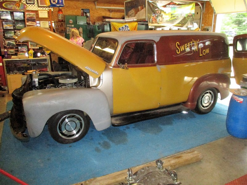 1949 Chevrolet panel truck For Sale in Battle creek, Michigan ...