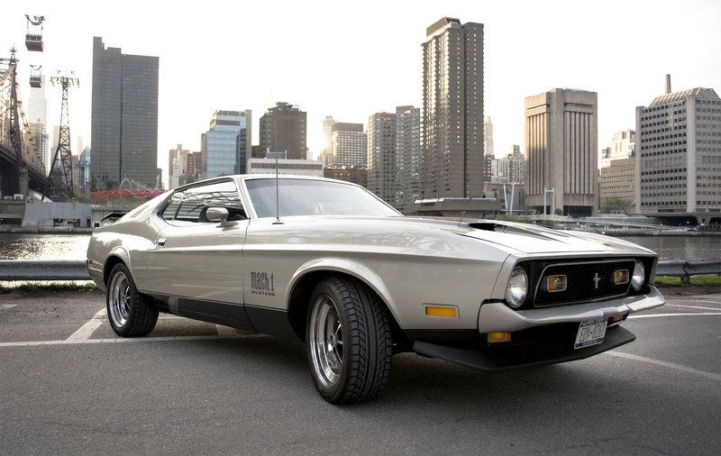 1971 ford mustang mach 1 for sale in new york new york. Black Bedroom Furniture Sets. Home Design Ideas