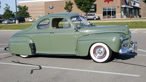 1942 Ford Short Door Buisness Coupe