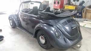 1975 Volkswagen Super beetle convertible