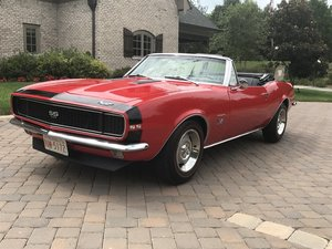 1967 Chevrolet Camaro 396 RS/SS Convertible