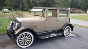 1925 Studebaker 2 door sedan