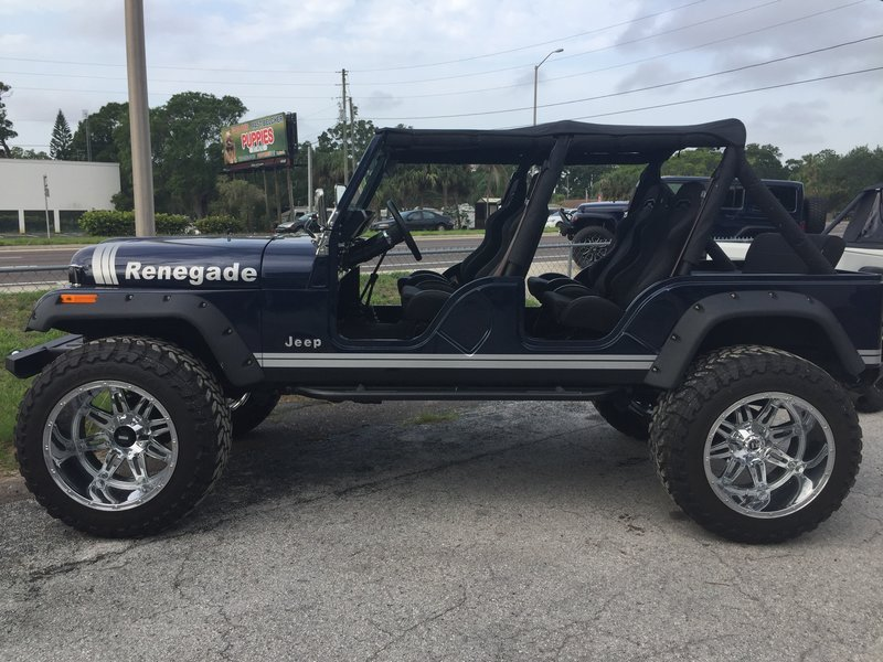 1980 jeep renegade cj 5 for sale in largo florida old car online. Black Bedroom Furniture Sets. Home Design Ideas