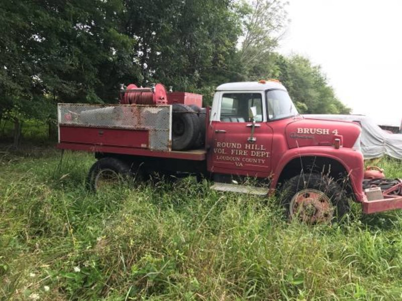 1968 international brush truck for sale in fredrick maryland old car online. Black Bedroom Furniture Sets. Home Design Ideas
