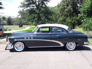 1952 Buick Special Deluxe Tourback