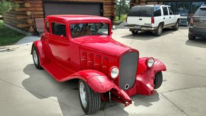 1932 Chevrolet 5 window Chevy Coupe