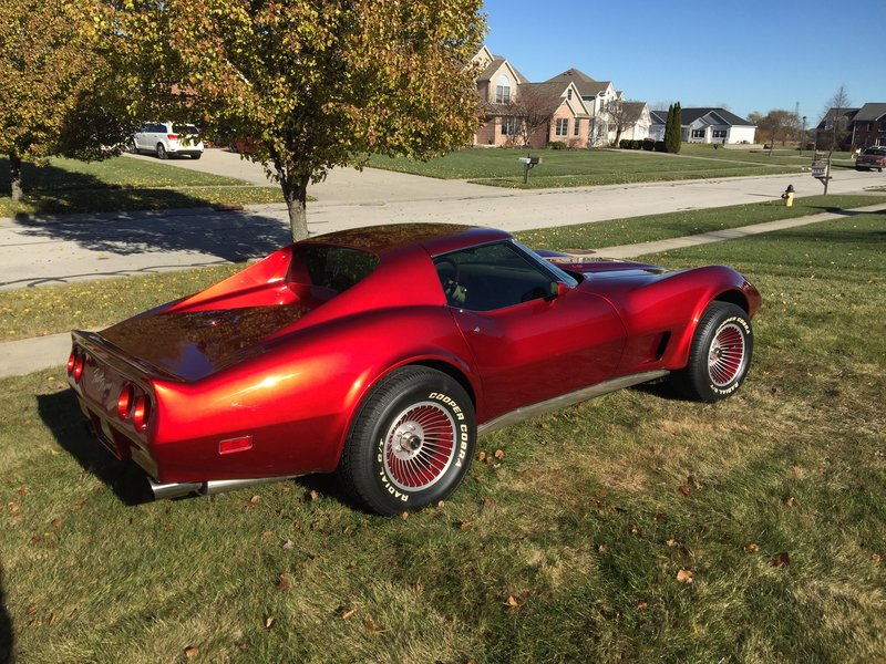 1976 chevrolet corvette for sale in oregon ohio old car online. Black Bedroom Furniture Sets. Home Design Ideas
