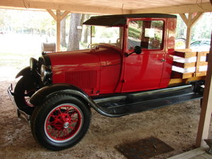 1928 Ford AA 1 1/2 ton stake bed