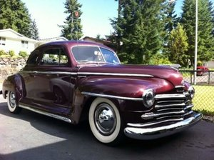 1947 Plymouth P-15 Special Deluxe Business Coupe