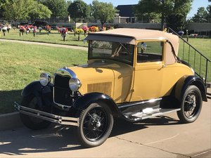 1928 Ford Model A Super Coupe with Rumble Seat