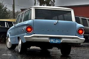 1962 Ford Falcon 2-Door Wagon