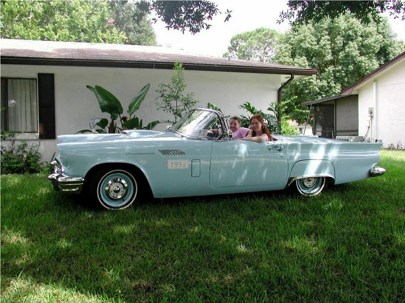 1957 Ford Thunderbird Convertible and hardtop with porthole For ...