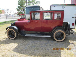 1924 Reo 4 door sedan, Model # T6FC