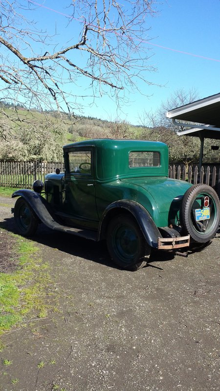 1929 Chevrolet Std coupe